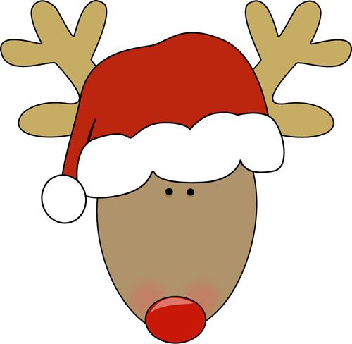 500x488 Reindeer Clip Art