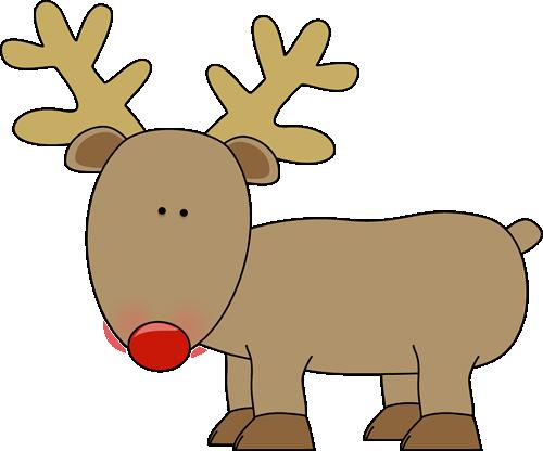 500x416 Reindeer Clip Art