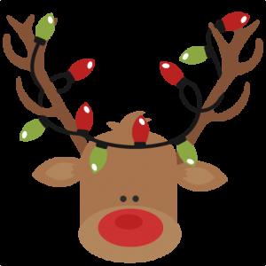 300x300 Reindeer Clipart Transparent Background