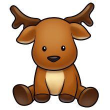 220x220 Top 90 Reindeer Clip Art