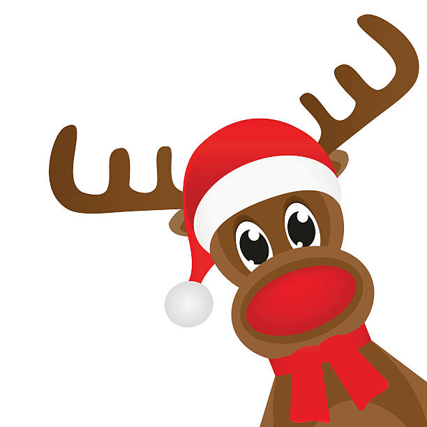 612x612 Free Clipart Rudolph Red Nosed Reindeer