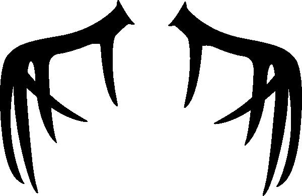 600x389 Antler Clip Art