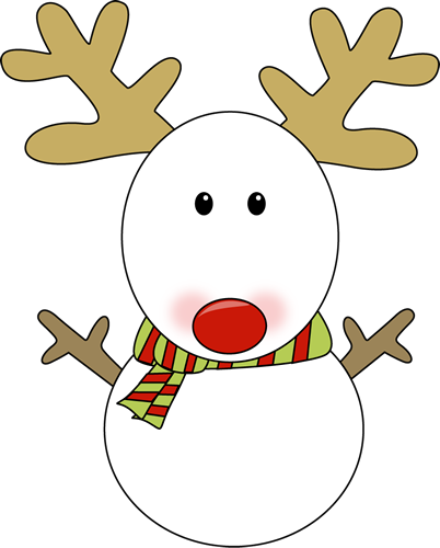 402x500 Reindeer Antlers Clipart