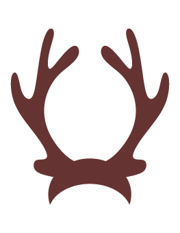 263x340 Reindeer Antlers Photo Booth Prop Photo Props