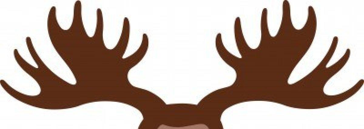 1200x426 Reindeer Clipart Ear