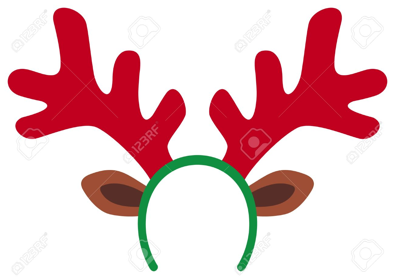 1300x919 Reindeer Clipart Headband
