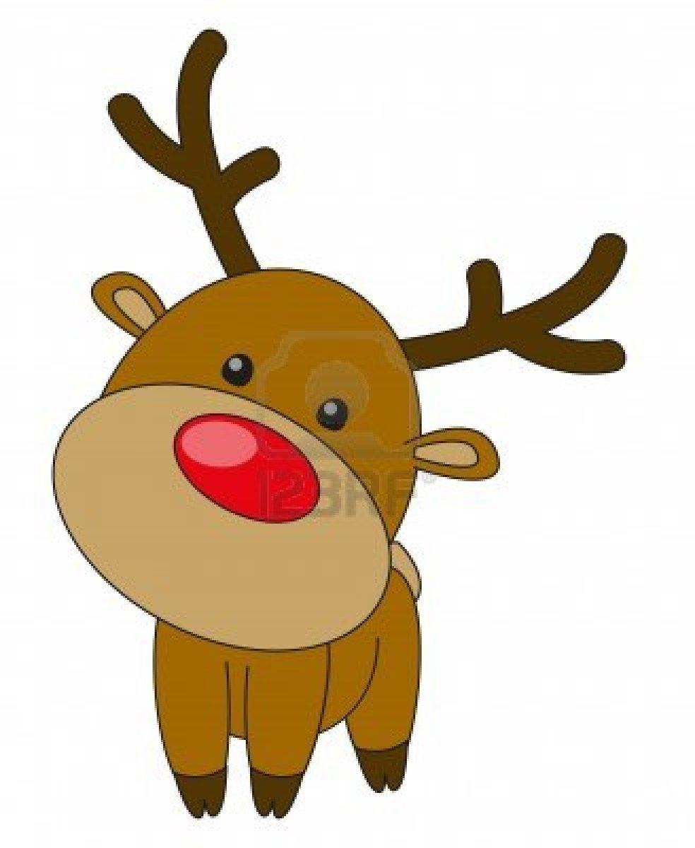 984x1200 Rudolph Head Clipart
