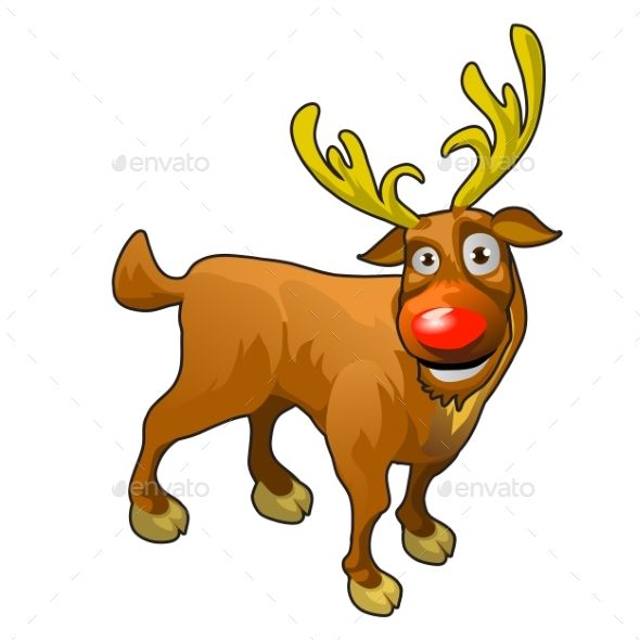 590x590 The Best Cartoon Reindeer Ideas Rudolph Cartoon