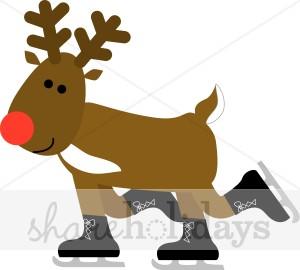300x270 Reindeer Clipart