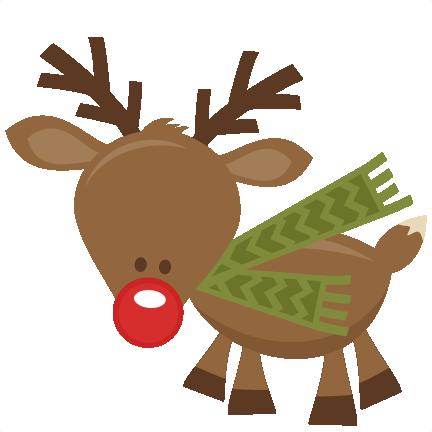 432x432 Cute Christmas Reindeer Clipart