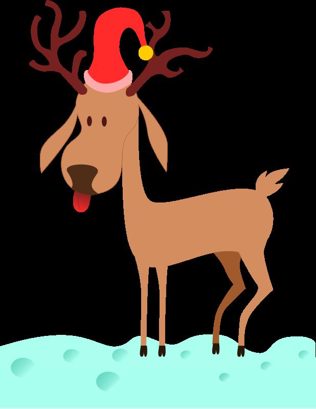 618x800 Fun Clipart Reindeer