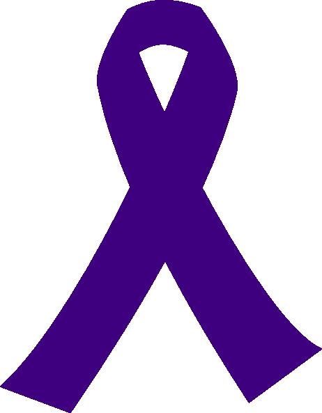 462x593 Purple Ribbon Clipart