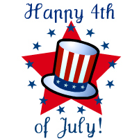200x200 Free Fourth Of July Clipart Hubpages