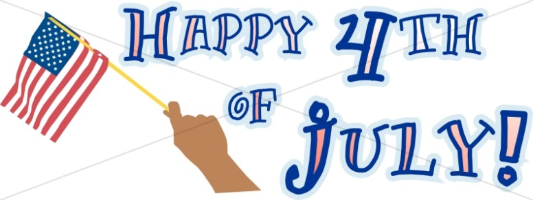 776x291 July 4th, 1776 Independence Day Independence Day Word Art