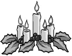 236x182 Candle Christian Clipart Free