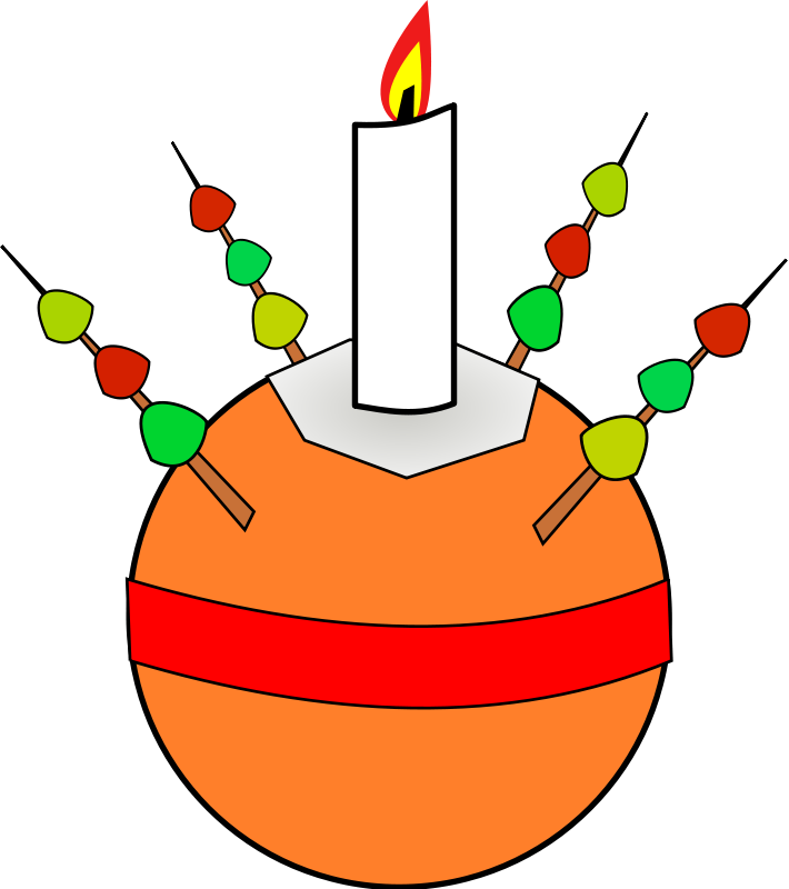 710x800 Free Christingle Clip Art