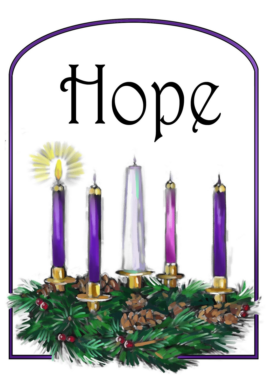 1108x1600 Religious Advent Clipart Free Images