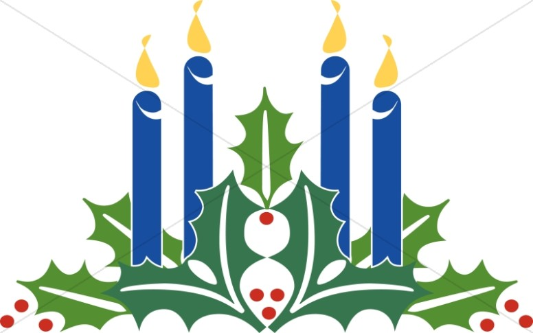 776x485 Advent Wreath Clip Art