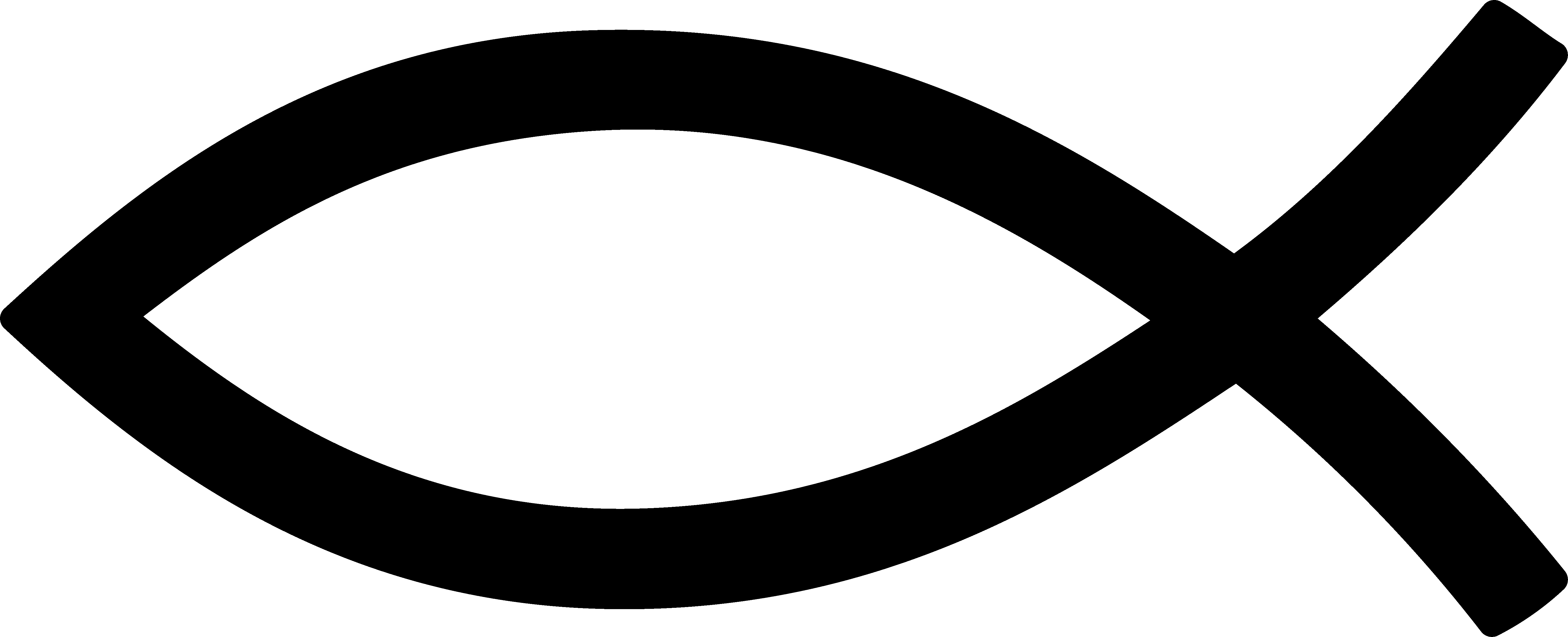6075x2467 Ichthys Christian Fish Symbol