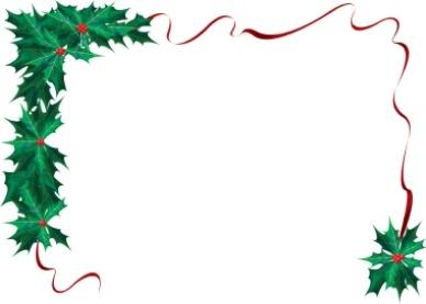 388x277 Religious Christmas Border Clipart