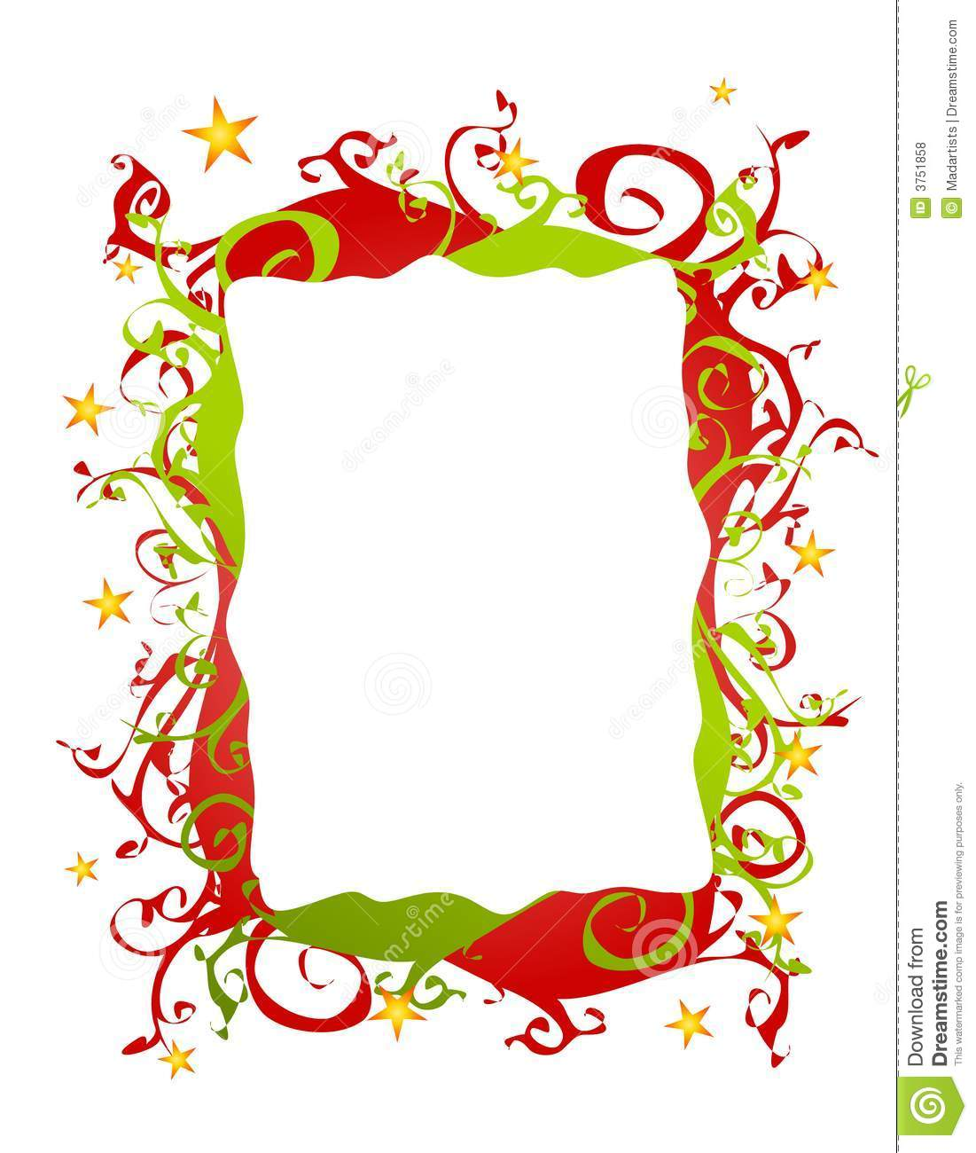 1101x1300 Christmas Ornaments Clipart Christmas Present Border
