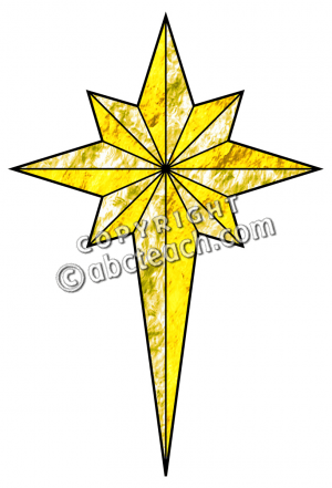 300x441 Religious Christmas Star Clip Art Merry Christmas And Happy New