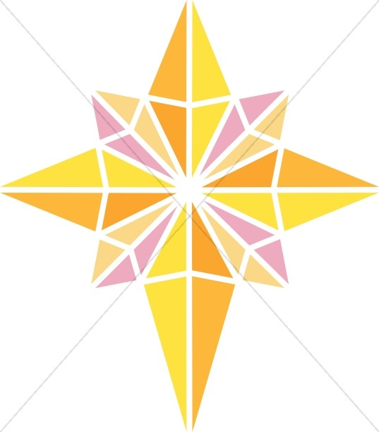 537x612 Star Of Bethlehem Clipart