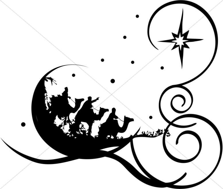 776x659 Religious Christmas Clip Art Black And White Fun For Christmas