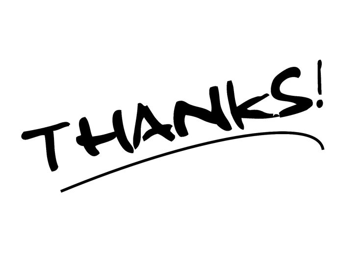 736x568 Give Thanks Clipart Black And White