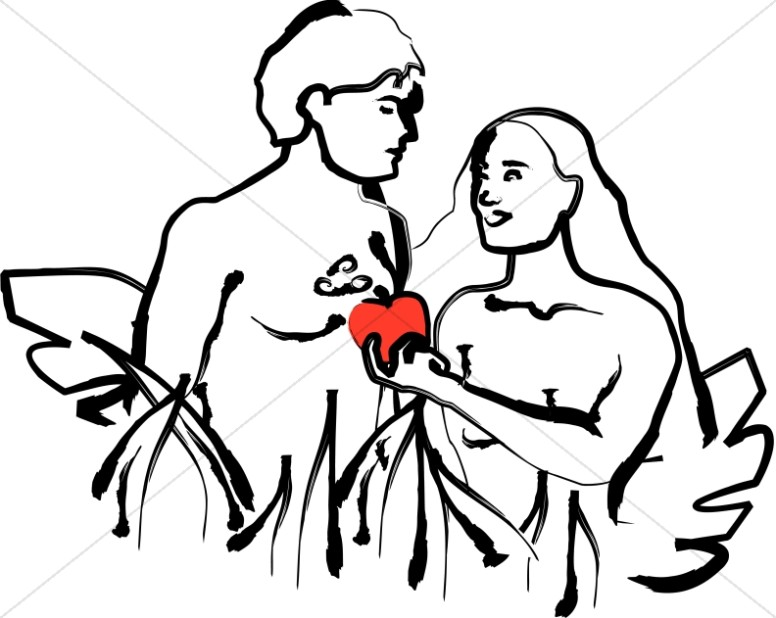 776x618 Religious Clipart Of Adam And Eve Adam And Eve Clipart