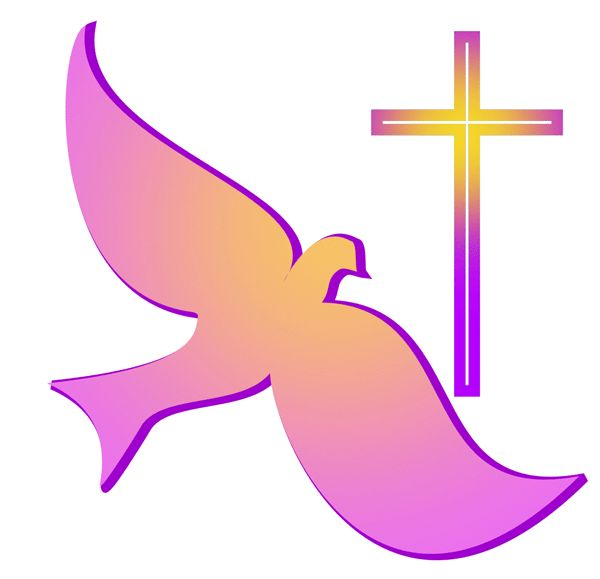 600x579 Religious Church Sign Clipart Crosses