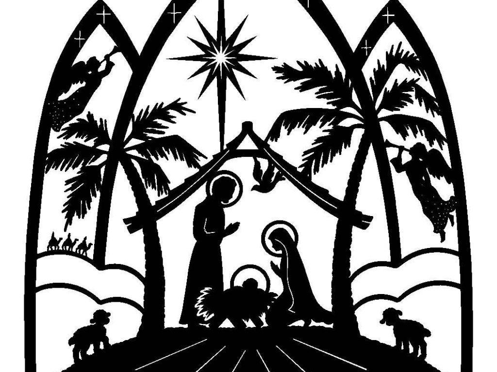 1024x768 Sensational Design Christian Christmas Clip Art Religious Clipart
