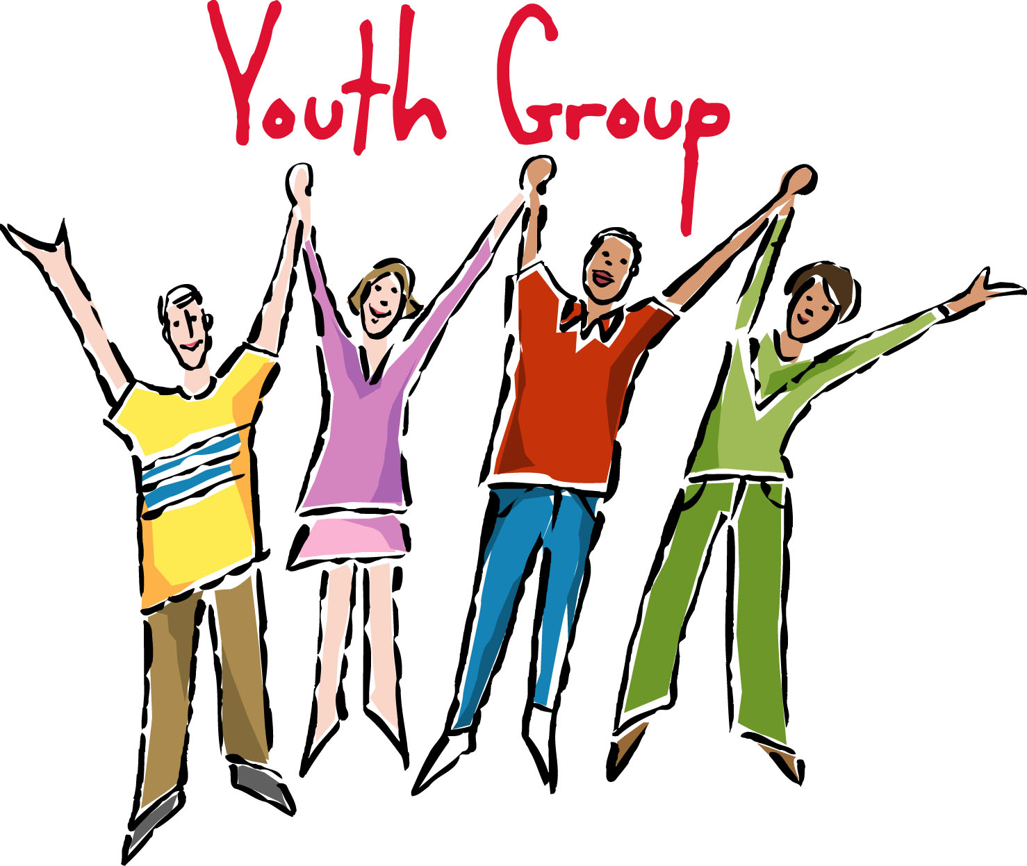 1478x1247 Religious Youth Work Together Clipart
