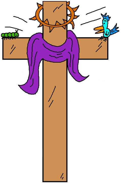 476x719 Easter Clipart Cross