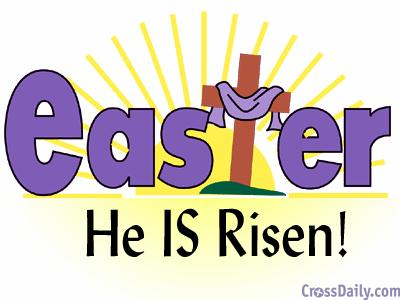 400x300 He Is Risen Clip Art Black And White Happy Easter 2017