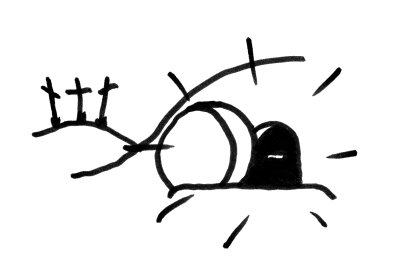 400x267 He Is Risen Clip Art Black And White Happy Easter 2017