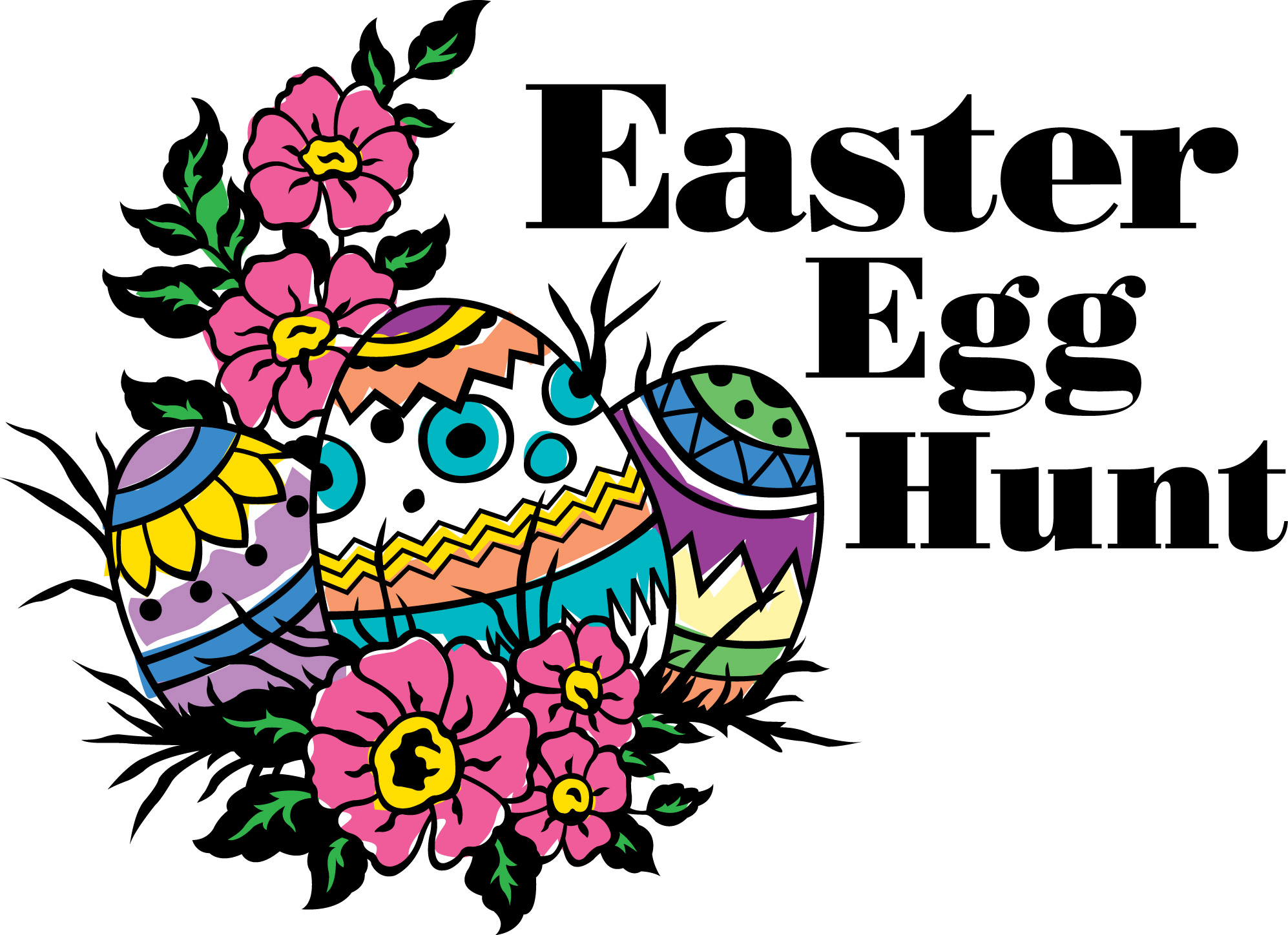 1994x1448 Annual Easter Egg Hunt Clipart