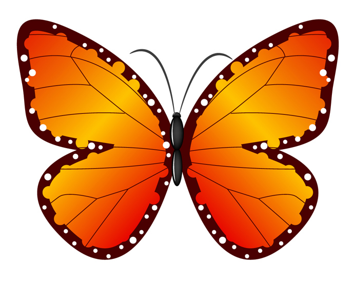 690x552 Graphics For Free Butterfly Clip Art Graphics