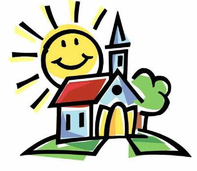 400x347 Religious Clipart Church Service