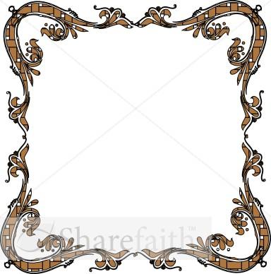 384x388 Religious Clipart Frame