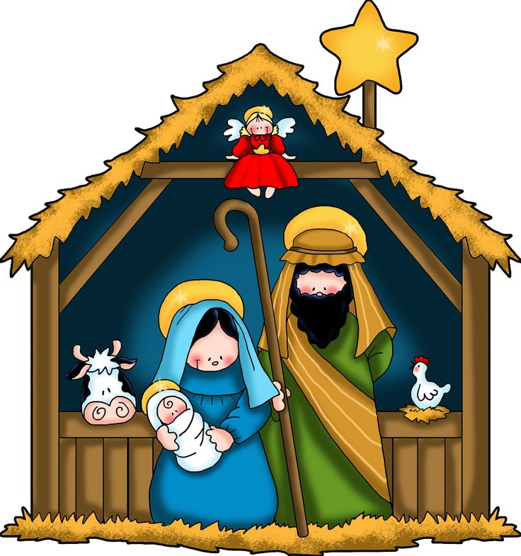 736x785 kid nativity nativity clip art merry christmas amp happy new year arts