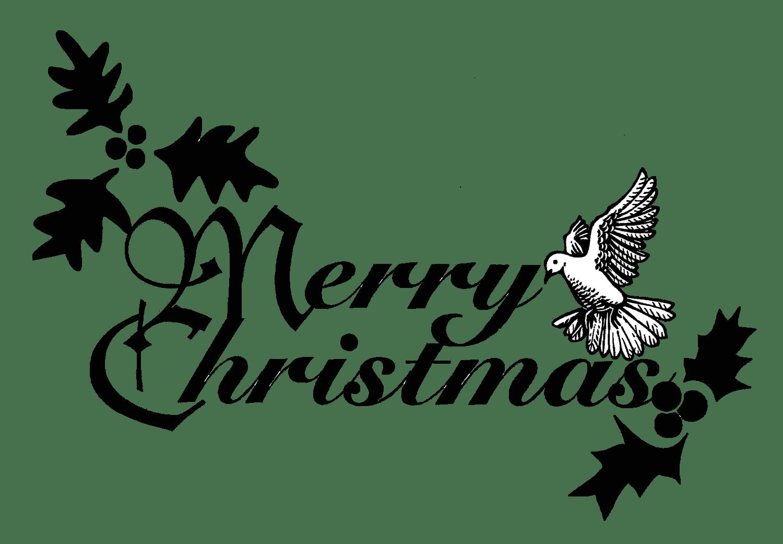 1500x1041 Religious Christmas Clip Art Black White Merry Christmas