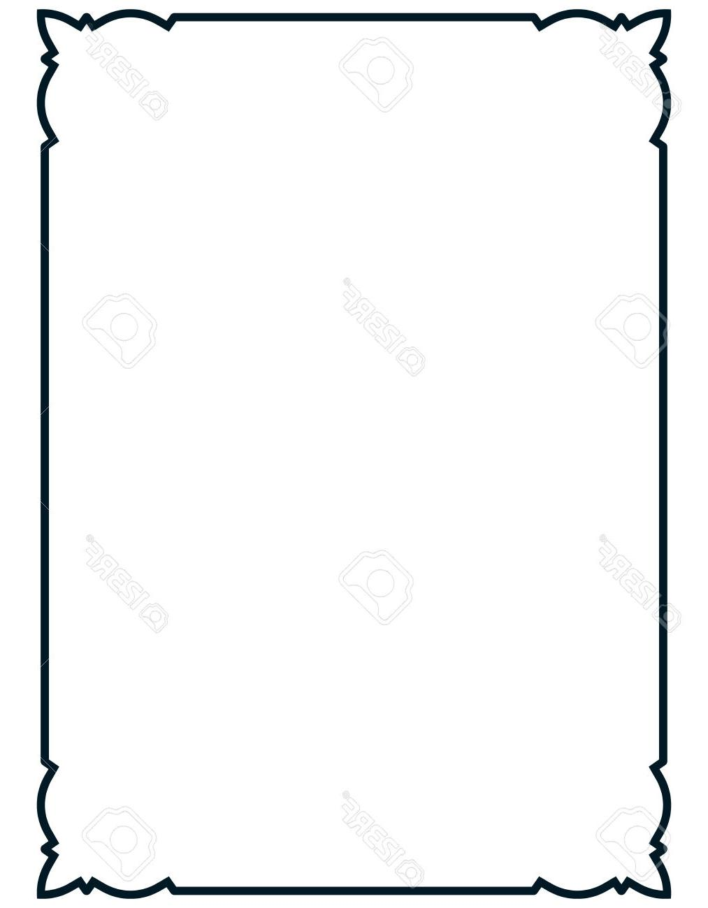 1013x1300 Best Free Menu Borders Vector Images Free Vector Art, Images