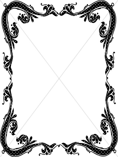 460x612 Catholic Clip Art Borders Clipart Collection