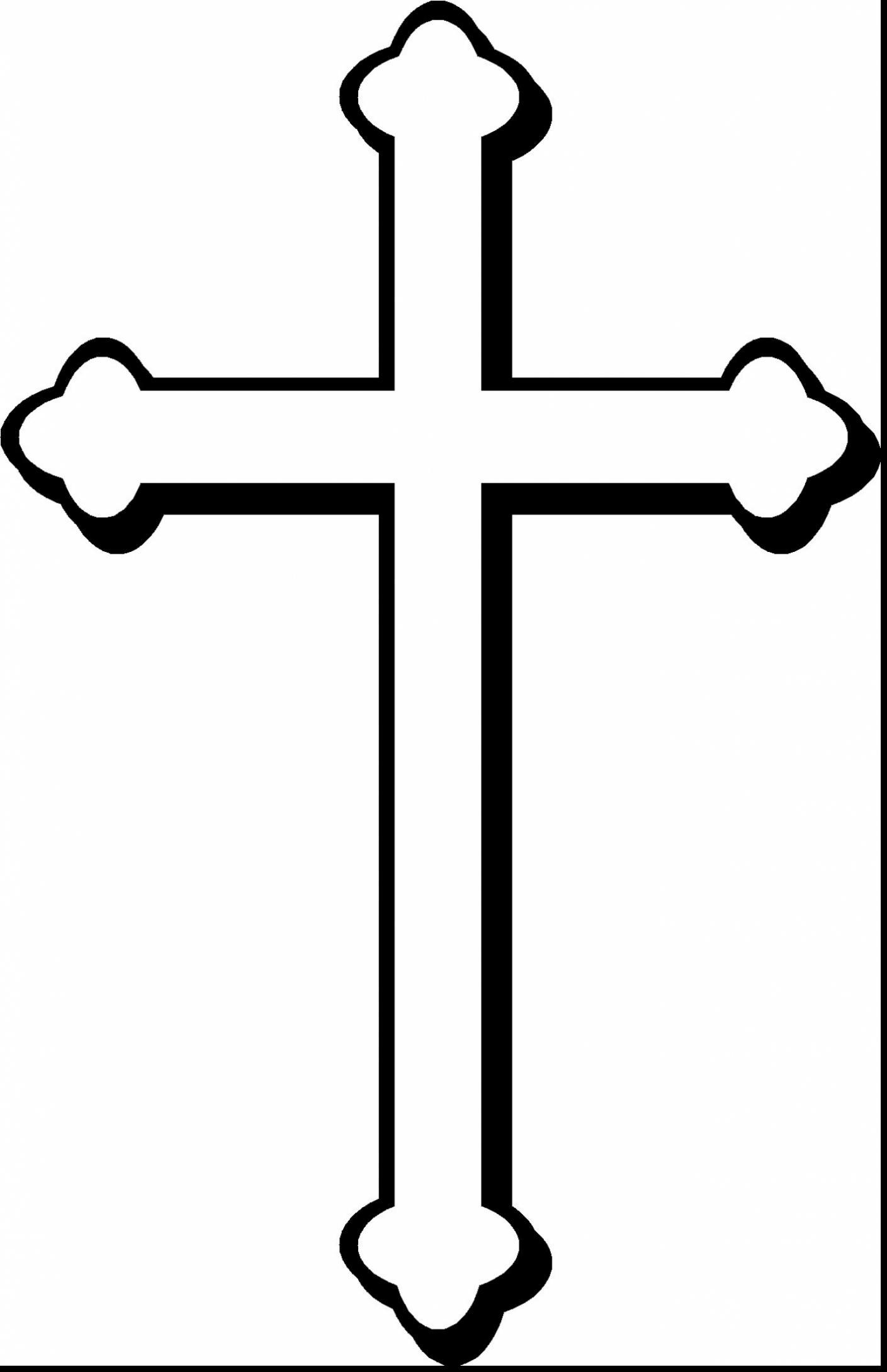 1409x2180 Fantastic Christian Cross Symbols Clip Art With Cross Coloring
