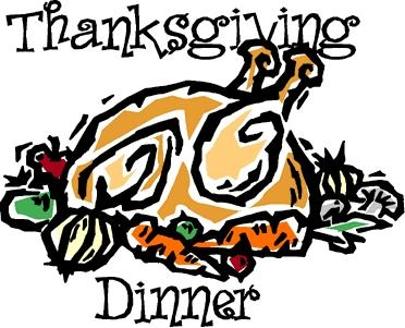 372x301 Thanksgiving Meal Clipart