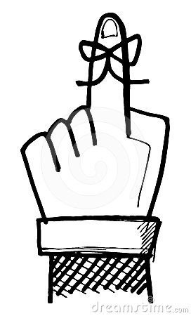 272x450 Finger Clipart Reminder