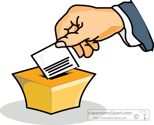 500x404 Vote Finger Clipart