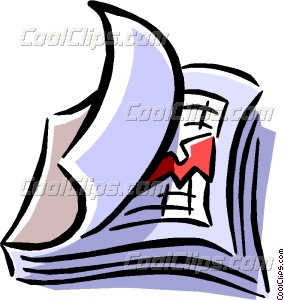 284x300 Business Report Clipart