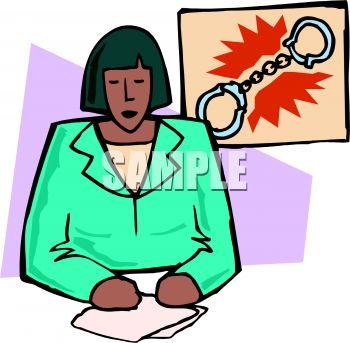 350x343 Black News Reporter Clip Art Cliparts